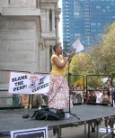 Aishah speaks at SlutWalk Rally in Philadelphia